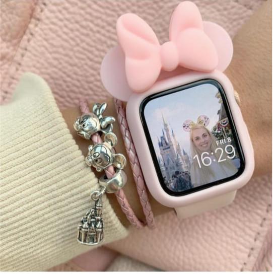 online retailer 4106e 9e646 Jual case minnie mouse disney apple watch / cover iwatch iwo 38mm 40mm -  Jakarta Barat - Voyage Store | Tokopedia