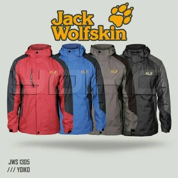 Foto Produk Jaket Gunung Outdoor Jack Wolfskin 1305 Waterproof Import dari cahaya mally