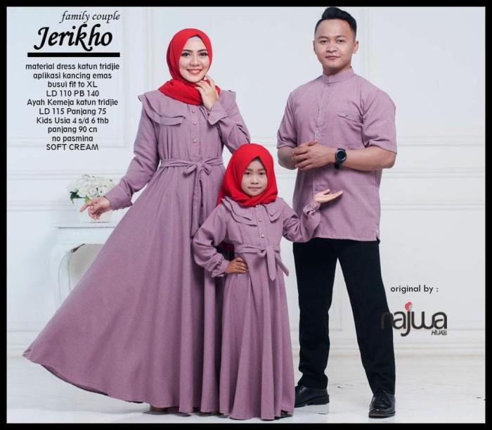 Jual Baju Couple Keluarga Gamis Anak Original By Ori Najwa Jakarta Timur Purnamatokoonlen Tokopedia