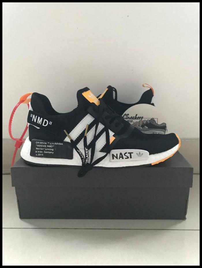 picked up wholesale sales good texture Jual Sepatu Sneakers - Virgil Abloh Off White x Adidas NMD R1 Nast - PRM -  DKI Jakarta - gugungaleria   Tokopedia