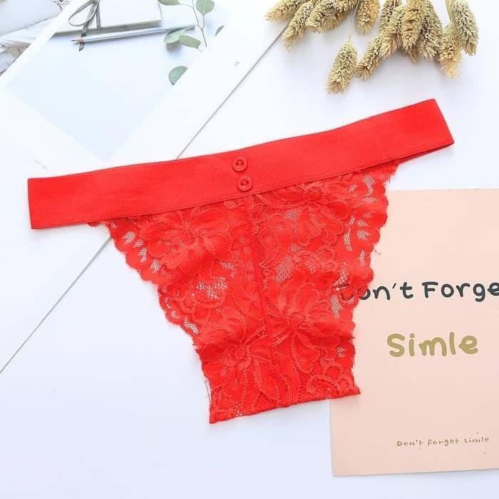 Jual READY g string wanita celana dalam sexy renda transparan CD ... ba6af55901