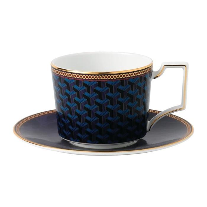 harga Byzance - teacup & saucer blue bxd Tokopedia.com