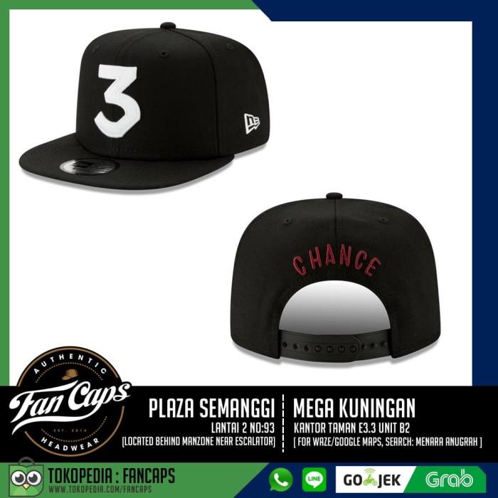 5f2df874 Jual [AUTHENTIC] Chance The Rapper New Era 3 Snapback Cap - Jakarta ...