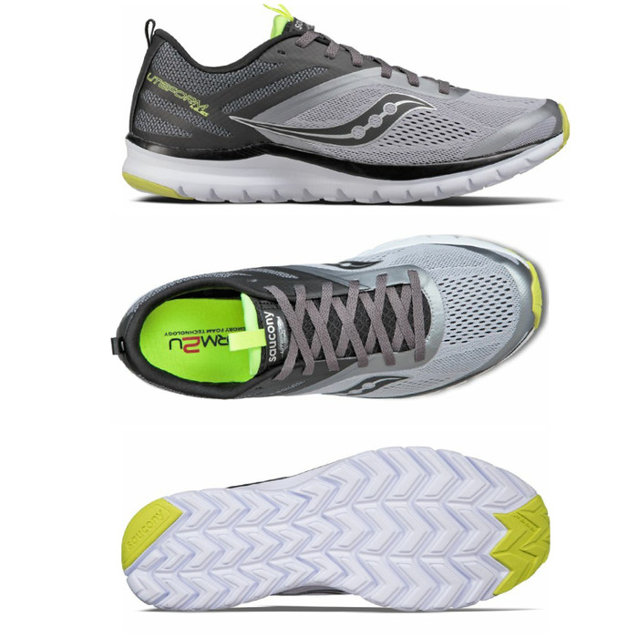 Original Saucony Sepatu Running Lari Gym Badminton Olahraga Pria Murah -  ceb24504f1