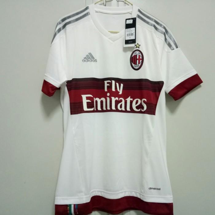 harga Original jersey ac milan 15/16 away bnwt Tokopedia.com