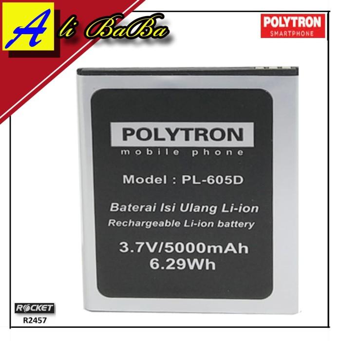 harga Baterai handphone polytron rocket s2 r2457 rocket s1 r2452 pl-605d Tokopedia.com