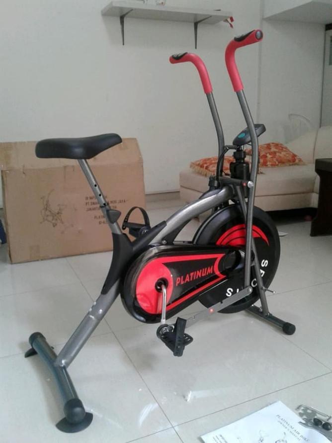 harga Platinum bike alat olahraga sepeda fitness diatas excider air Tokopedia.com