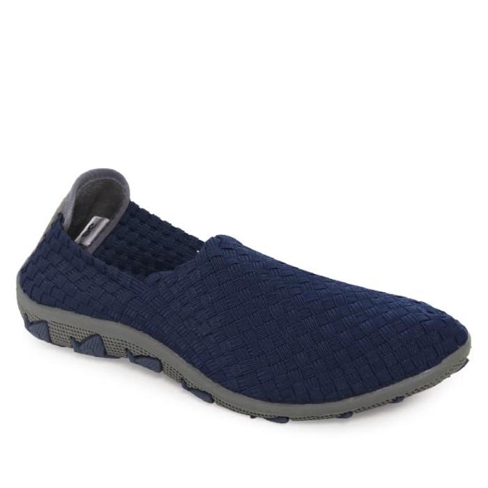 harga Pavillion sepatu anyam wanita flats 777-5626 dark blue - navy 37 Tokopedia.com