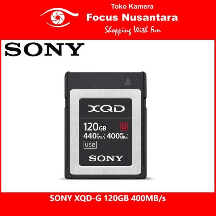 harga Sony xqd-g 120gb 400mb/s Tokopedia.com
