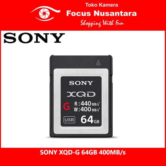 harga Sony xqd-g 64gb 400mb/s Tokopedia.com