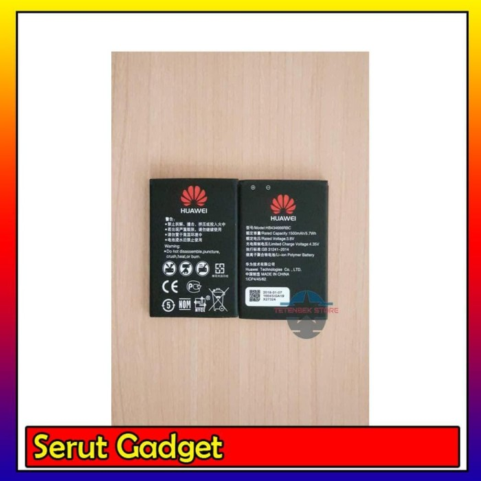 Jual Baterai Battery Modem Mifi Huawei E5577 E5573 E5673 [ORIGINAL HUAWEI]  - Jakarta Pusat - SERUT GADGET | Tokopedia