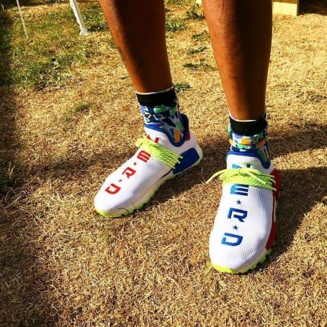 6b9748e50f53b Jual Adidas NMD HU Pharrell Williams Nerd Homecoming Premium ...