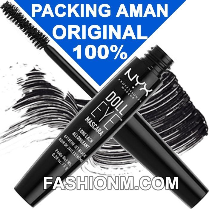 462ba76d94d Jual NYX Doll Eye Mascara Long Lash DE01 Extreme Jet Black ...