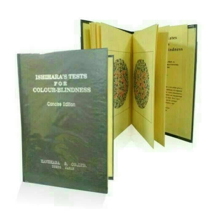 Foto Produk Buku Ishihara Buku Tes Buta Warna Test Buta Warna dari Arsyila Zivana