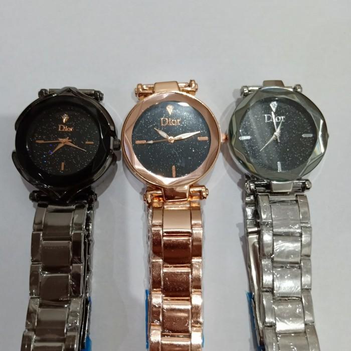 ... Jam tangan wanita Dior rantai 3 warna silver bff14a2671