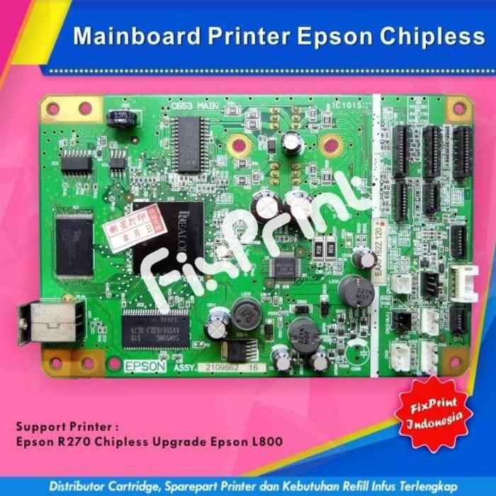 Jual promo seru Mainboard Printer Epson R270 Upgrade L800 Chipless - R270 -  Kota Surabaya - priscila evi | Tokopedia