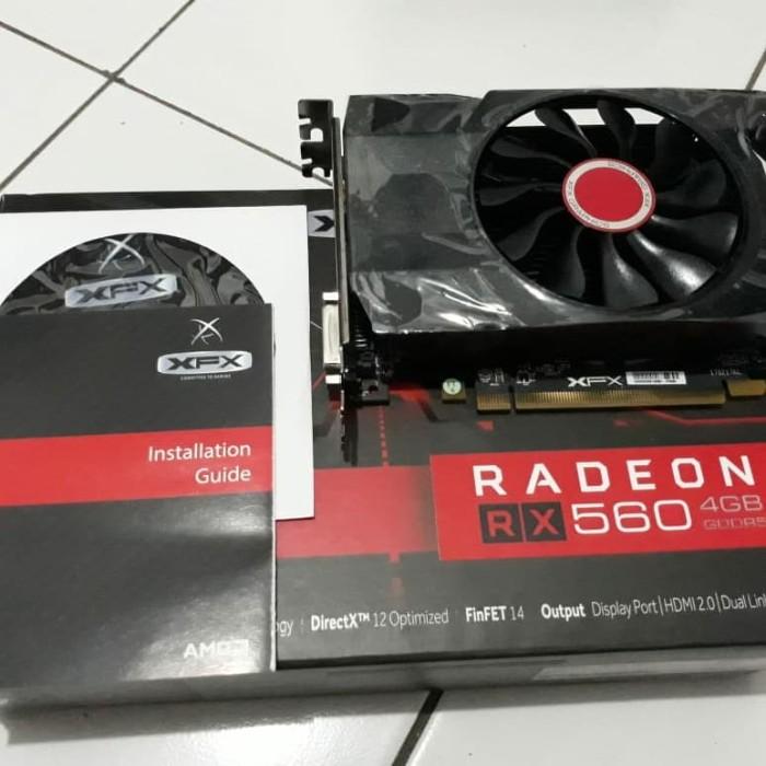 Jual XfX Radeon RX560 4gb - Design cam store   Tokopedia