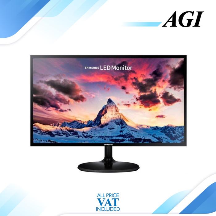 harga Monitor led samsung s24f350 24  hdmi vga Tokopedia.com