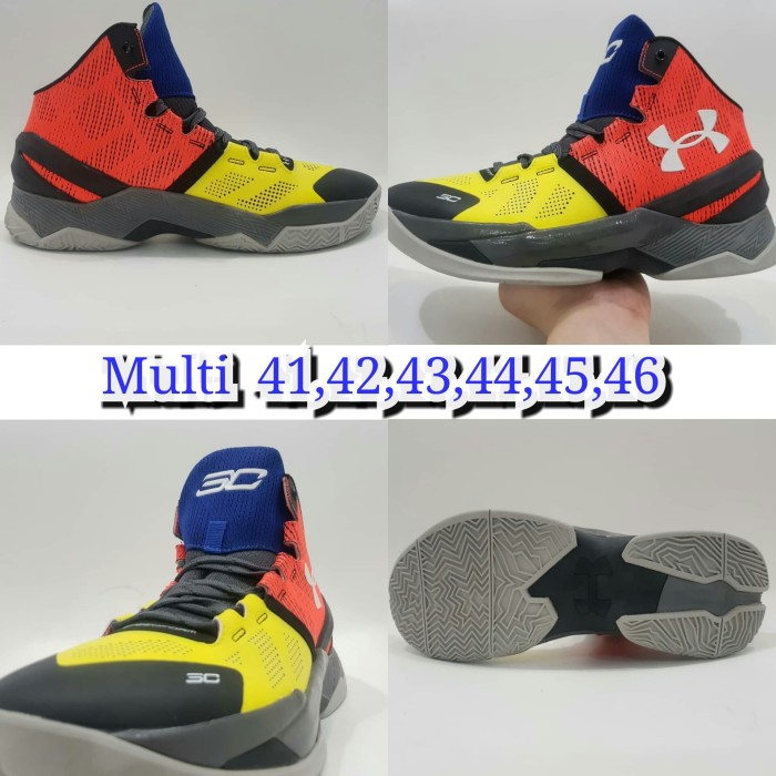 Jual sepatu basket under armour sepatu olahraga volly - d shopp13 ... 012b7d4a74