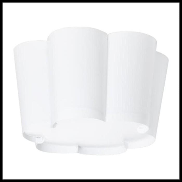 LAMPU DINDING LED IKEA LYSBOJ LAMPU PLAFON, PUTIH TERUJI
