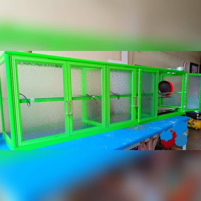 Jual Kitchen Set Lemari Gantung Dari Aluminium Putih Jakarta Barat Inottstar Tokopedia