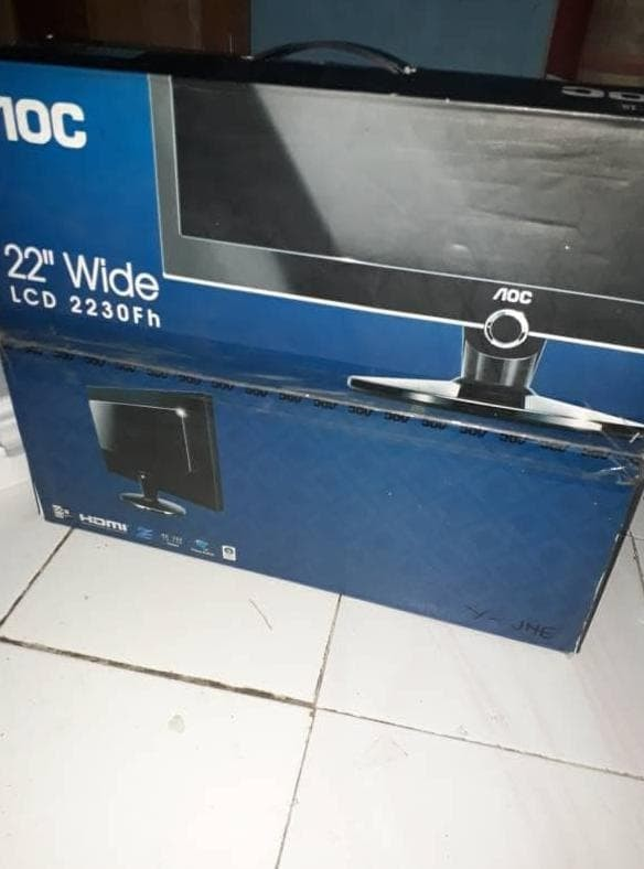 Foto Produk terlaris lcd monitor komputer aoc 22inch wide 2230fh dari Achmad Aliyadinstore