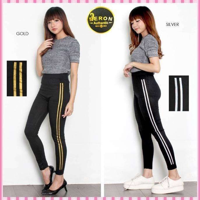 Jual Best Seller Celana Legging Wanita Stripe Garis 2 Leging Fashion Jakarta Barat Fortuna Panggabeanstore Tokopedia