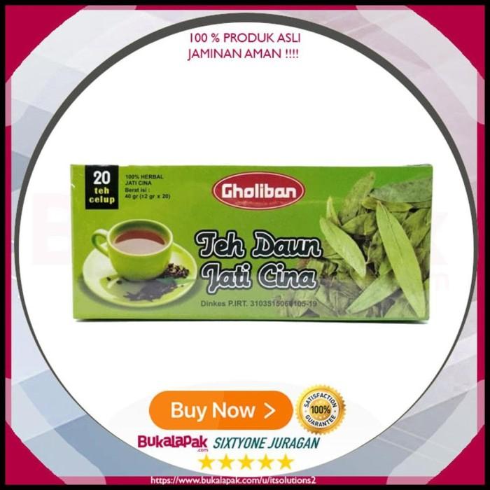 SO019 Teh Celup Herbal Jati Cina Gholiban - Teh Pelangaing Tubuh -