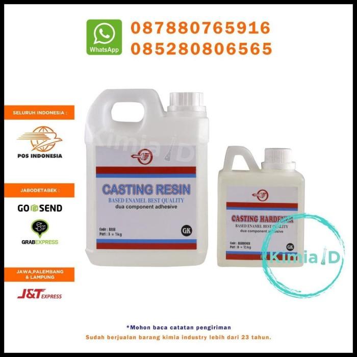 Update Harga Epoxy Resin Bening - 2Kg - Casting Resin