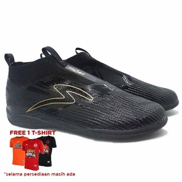 Jual Sepatu Futsal Specs Accelerator Illuzion In Laceless Black