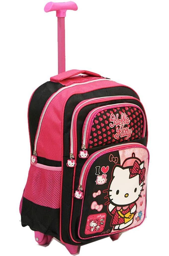 New Tas Anak Murah Hello Kitty Tas Trolley Anak Sd - Pink Berkualitas ed8cf61e4a