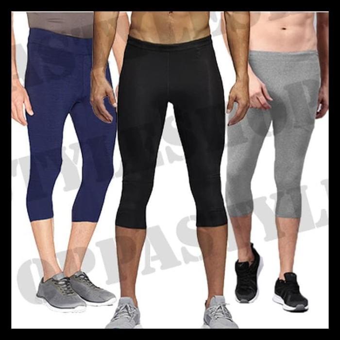 Jual Berkualitas Basic 7 8 Legging Pria Celana Legging 7 8 Training Sport Kab Bekasi Hendra Suu Tokopedia