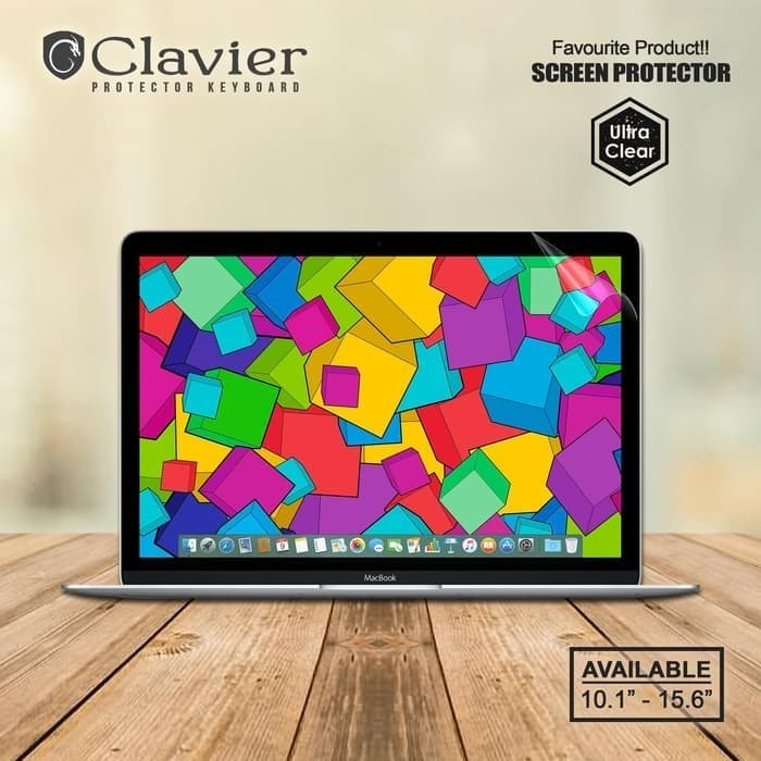 Foto Produk Crystal Clear Screen Protector Laptop Garskin Laptop Garskin Hp dari I Mac store ID