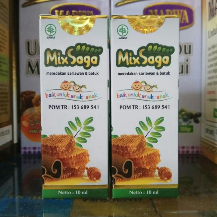 Foto Produk Mix Saga Obat Sari awan Obat Batuk Meredakan Sariawan dan Batuk dari harga grosir 01