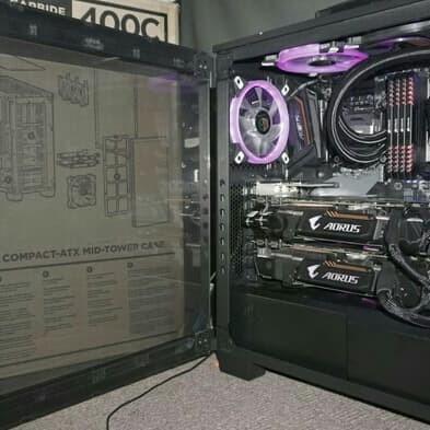 Jual PC SULTAN GAME RANDER INTEL i7 8700K VS SLI VGA GTX 1080 Ti RAM 32GB -  KevinComputer | Tokopedia