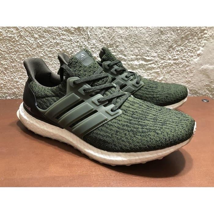 a969240e8 Jual ss Adidas UltraBoost 3.0 Green Military High Premium Original ...