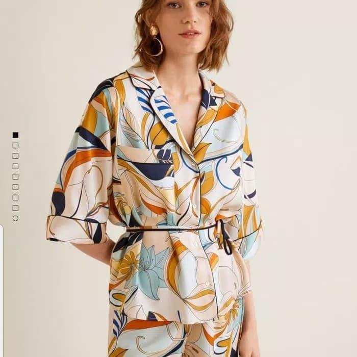 mejor calidad disponible adecuado para hombres/mujeres Jual kemeja kimono MANGO - Kota Medan - tengku Shope   Tokopedia