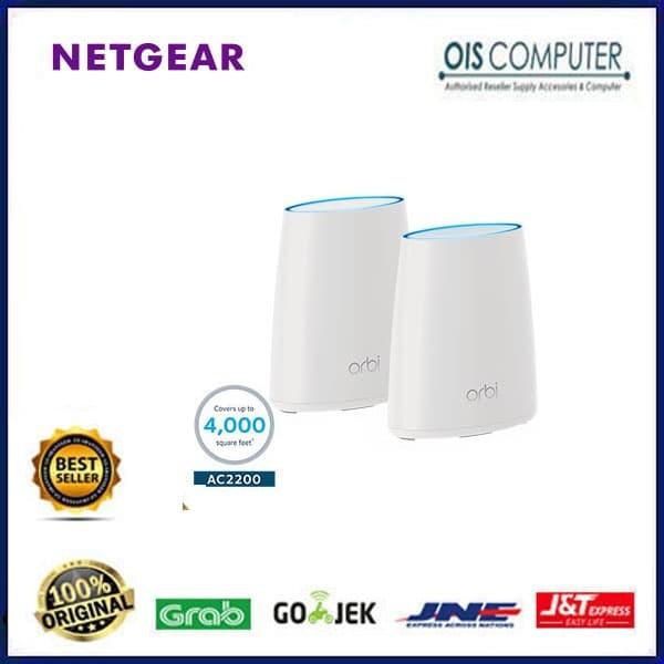 Jual Netgear Orbi RBK40 Home WiFi System Tri Band 1 Router 1 Orbi Satelite  - Jakarta Pusat - ORIGINAL IT SHOP | Tokopedia