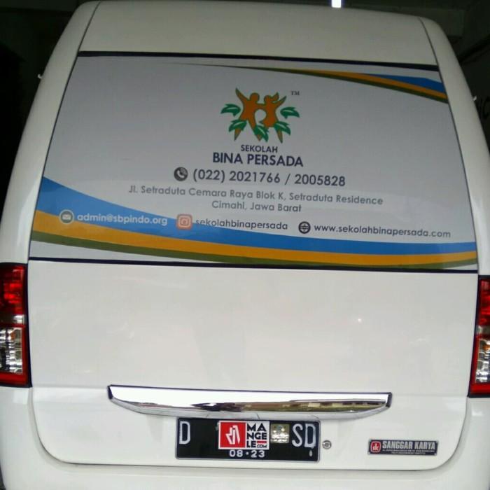 Gambar Branding Mobil Sekolah Kumpulan Gambar Mobil Terbaru