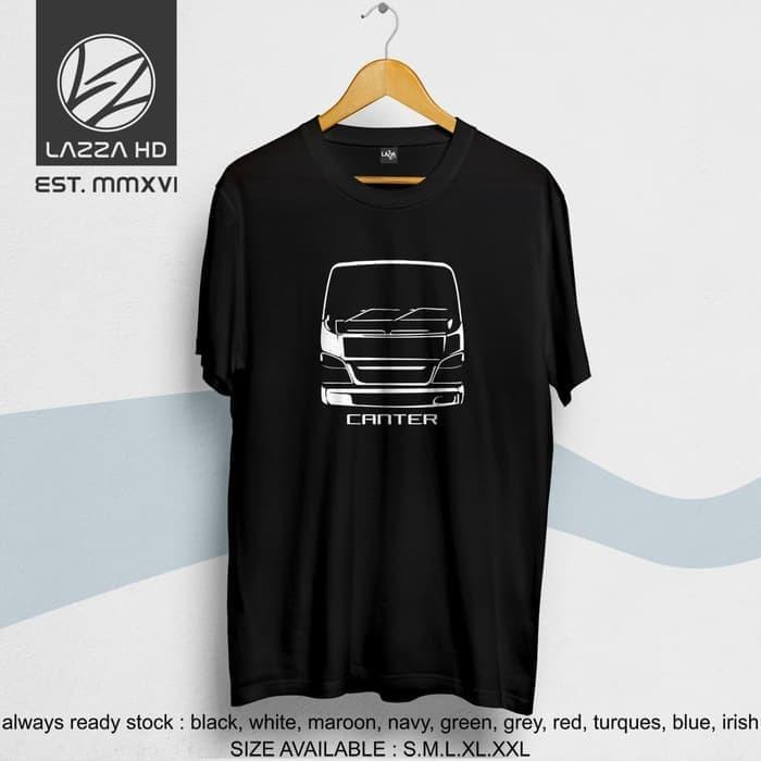 Kaos Tshirt Distro Truk Mitsubishi Canter Terlaris -gtx