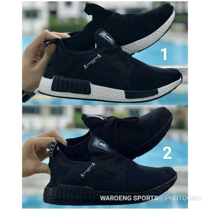 new product 867b9 505bc Jual Sepatu Adidas NMD R1 Mastermind Japan Black Men Cowok Cowo R 1 Hitam -  DKI Jakarta - WaroengSports   Tokopedia