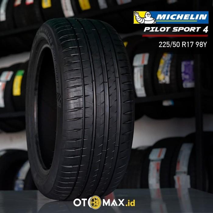 Michelin Pilot Sport >> Jual Ban Mobil Michelin Pilot Sport 4 225 50 R17 98y Kota Tangerang Sinar Otomax Indonesia Tokopedia