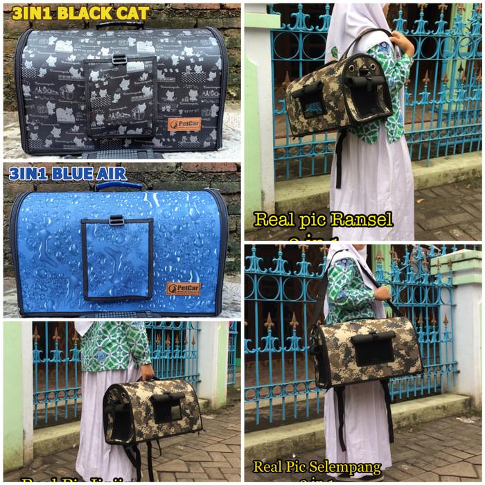 Jual tas reptil tas kucing tas anjing pet bag travel bag pet cargo ... c53bde9416
