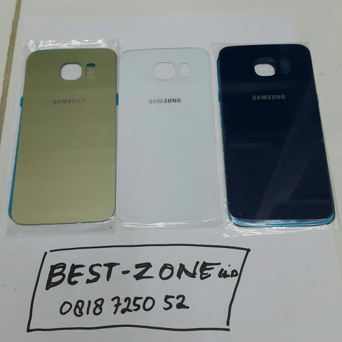 Backdoor backcover tutup belakang Samsung galaxy S6 s6 flat