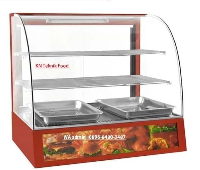 Pajangan Makanan Display Warmer Fomac Shc dh 827 -Penghangat Chicken