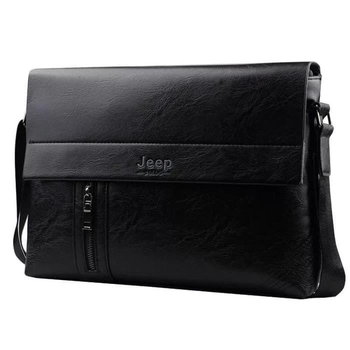 Jual Tas Selempang Kulit Pria Sling Bag Premium Leather Jeep Buluo ... 351381d23f