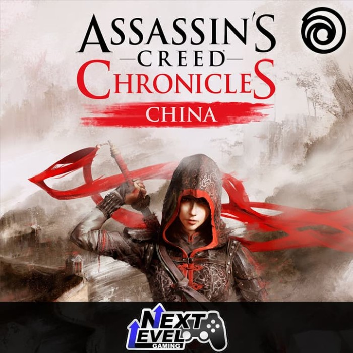 Jual Assassin S Creed Chronicles China Uplay Backup Dvd Kota