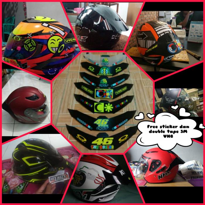 Foto Produk spoiler untuk semua helm dari harmony indonesia