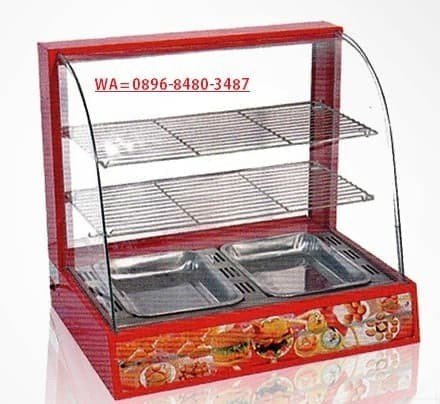 Pajangan Makanan Display Warmer Fomac Shc dh 827 Ready Stok Banyak