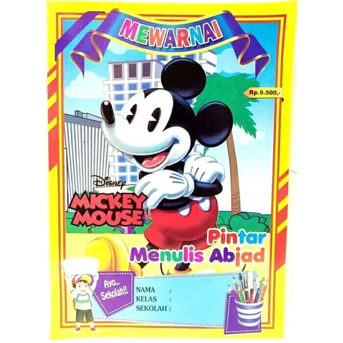 Jual Buku Mewarnai Mickey Mouse Rumasa Tokopedia
